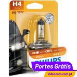 Philips Vision +30% H4 12v 60/55w P43t-38 12342PR (1 Lâmpada )