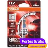 Osram Night Breaker Laser H7 Next Generation +150%  ( 2 Lâmpadas )