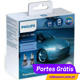Philips LED H4 Ultinon Essential LED  ( 2 Lâmpadas )
