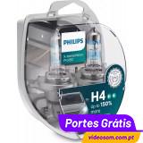Philips H4 Xtreme Vision Pro 150 ( 2 lâmpadas )