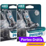 Philips HB3 Xtreme Vision Pro 150 ( 2 lâmpadas )