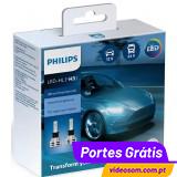 Philips LED H3 Ultinon Essential LED  ( 2 Lâmpadas )