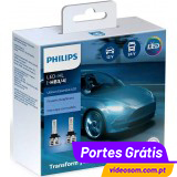 Philips LED HB3 Ultinon Essential LED  ( 2 Lâmpadas )