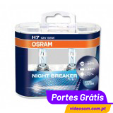 OSRAM NIGHT BREAKER PLUS H7 ( 2 Lâmpadas )