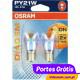 OSRAM DIADEM PY21W ( 2 BULBS )