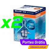 OSRAM COOL BLUE INTENSE H4 ( 2 LÂMPADAS )