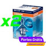 OSRAM COOL BLUE INTENSE H4 12v 60/55w ( 2 LÂMPADAS )