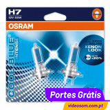 OSRAM COOL BLUE INTENSE H7 ( 2 LÂMPADAS )