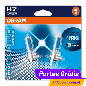 osram cool blue intense h7 2 l mpadas videosom. Black Bedroom Furniture Sets. Home Design Ideas