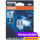 OSRAM HALOGEN COOL BLUE INTENSE W5W