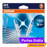 OSRAM COOL BLUE INTENSE H1 ( 2 LÂMPADAS )