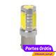 LAMPA - LÂMPADA MEGA LED HI-POWER P21W
