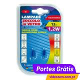 LAMPA -LÂMPADA T5 1,2W AZUL