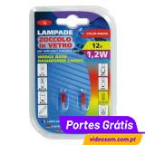 LAMPA -LÂMPADA T5 1,2W VERDE
