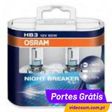OSRAM NIGHT BREAKER PLUS HB3 ( 2 Lâmpadas )