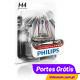 PHILIPS X-TREME VISION MOTO H4 12v 60/55w
