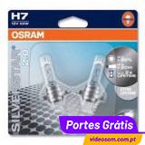 OSRAM SILVERSTAR H7 ( 2 BULBS )