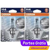 OSRAM SILVERSTAR 2.0  H4 ( 2 Lâmpadas )