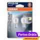 Osram Diadem Chrome PY21W ( 2 Lâmpadas )