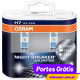 Osram Night Breaker Unlimited  H7 12v 55w (2 Lâmp). Subst por: H7NBLaser+130%