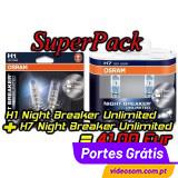 SuperPack Osram H4 NBU + W5W HCBI