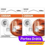 OSRAM W5W ( 4 Lâmpadas )