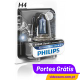 PHILIPS H4 BLUE VISION ULTRA MOTO