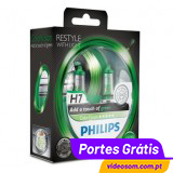 Philips H7 ColorVision Grenn ( 2 Bulbs )
