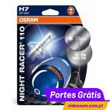 OSRAM H7 NIGHT RACER 110 ( 2 Bulbs )