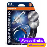 OSRAM H4 NIGHT RACER 110 ( 2 Bulbs )