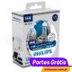 Philips WhiteVision H4 + w5w  ( 4 Bulbs )