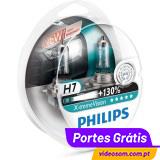 Philips Xtreme Vision H7 +130% ( 2 Lâmpadas )