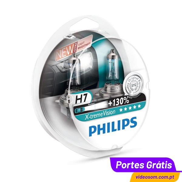 philips xtreme vision 130 h7 12v 55w 2 l mpadas. Black Bedroom Furniture Sets. Home Design Ideas