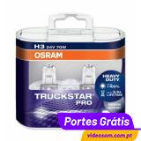 Osram H3 TruckStar Pro ( 2 Lâmpadas )