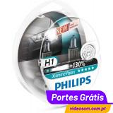 Philips Xtreme Vision H1 +130% ( 2 Lâmpadas )