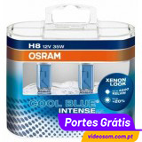 OSRAM COOL BLUE INTENSE H8 ( 2 LÂMPADAS )