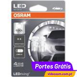 OSRAM LED STANDARD W5W 2880CW BRANCO FRIO ( 6.000K )