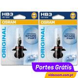 OSRAM HB3  ( 2 Lâmpadas )