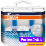 Osram Cool Blue Hyper Plus H7 12v 55w  5000K  ( 2 Lamp )