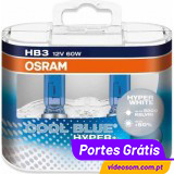 Osram HB3 Cool Blue Hyper+  ( 2 Lamp )