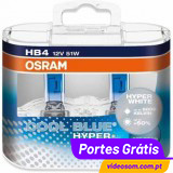 Osram HB4 Cool Blue Hyper+  ( 2 Lamp )