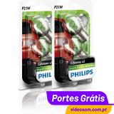 Philips P21W LL EcoVision ( 4 Lâmpadas )