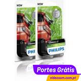 Philips W5W LL EcoVision ( 4 Lâmpadas )