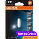OSRAM LED STANDARD TUBULAR 31mm  BRANCO FRIO ( 6.000K )