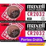 Maxell CR2032 ( 2 pilhas )