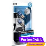 Philips T4W WhiteVision 12v  4w   ( 2 Lâmpadas )