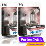 Philips Vision Plus +60% H4 12v 60/55w ( 2 Lâmpadas )