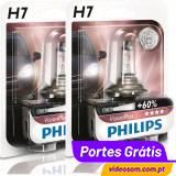 Philips Vision Plus +60% H7 12v 55w ( 2 Lâmpadas )