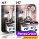 Philips Vision Plus +60% H7 12v 55w ( 2 Lâmpadas )