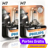 Philips Vision +30% H7 12v 55w PX26d 12972PR (2 Bulbs )